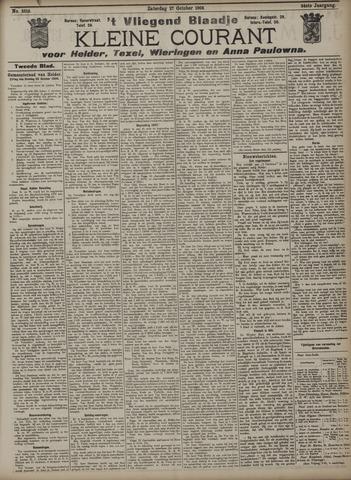 Vliegend blaadje : nieuws- en advertentiebode voor Den Helder 1906-10-27