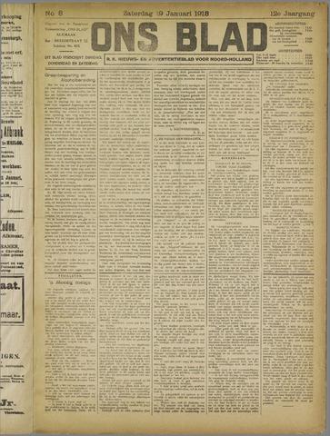 Ons Blad : katholiek nieuwsblad voor N-H 1918-01-19