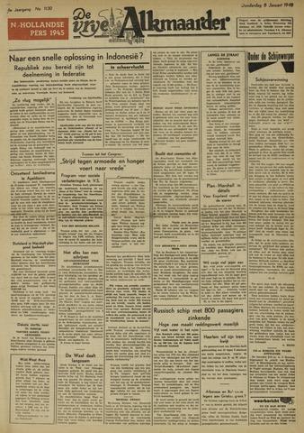 De Vrije Alkmaarder 1948-01-08