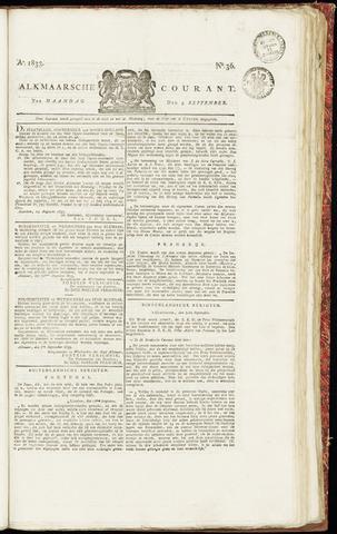 Alkmaarsche Courant 1833-09-09