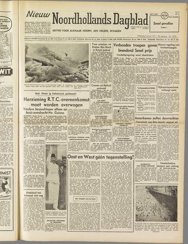 Nieuw Noordhollandsch Dagblad : voor Alkmaar en omgeving 1951-01-04