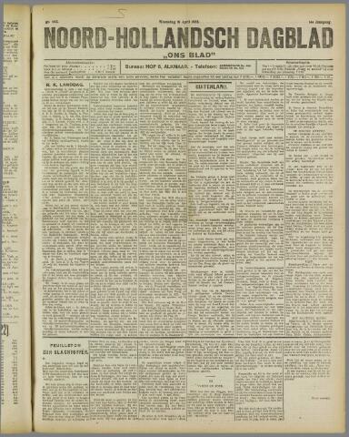 Ons Blad : katholiek nieuwsblad voor N-H 1922-04-19