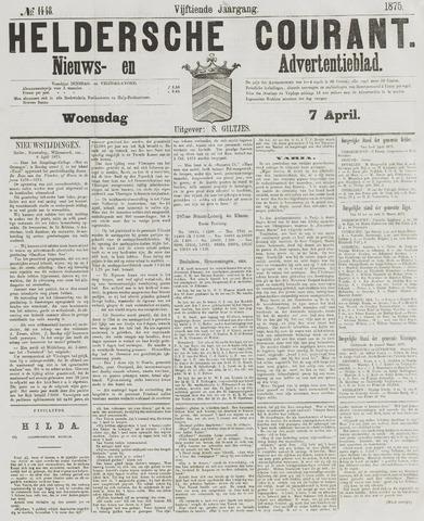Heldersche Courant 1875-04-07