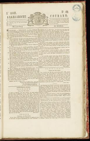 Alkmaarsche Courant 1847-10-18