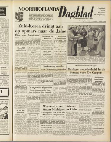 Noordhollands Dagblad : dagblad voor Alkmaar en omgeving 1953-06-10