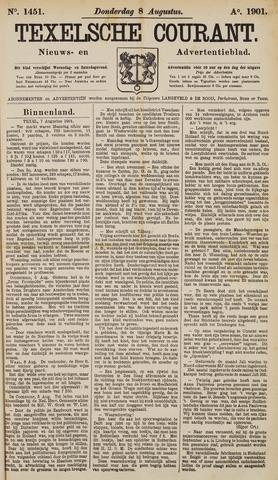 Texelsche Courant 1901-08-08