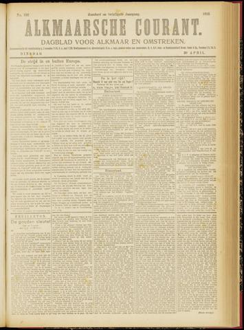 Alkmaarsche Courant 1918-04-30
