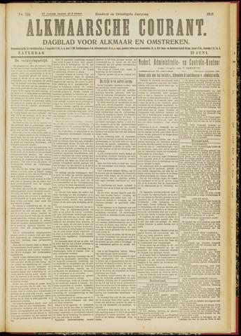 Alkmaarsche Courant 1918-06-22