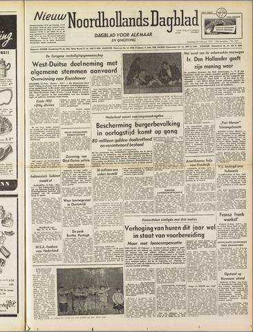 Nieuw Noordhollandsch Dagblad : voor Alkmaar en omgeving 1952-02-23