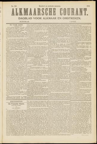 Alkmaarsche Courant 1914-07-07