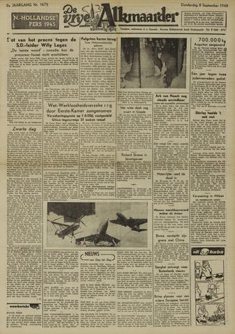 De Vrije Alkmaarder 1949-09-08
