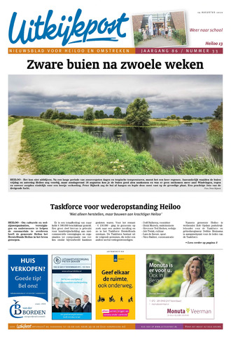 Uitkijkpost : nieuwsblad voor Heiloo e.o. 2020-08-19