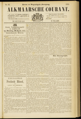 Alkmaarsche Courant 1895-03-27