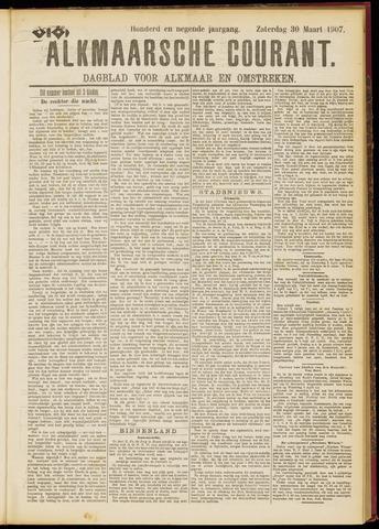 Alkmaarsche Courant 1907-03-30