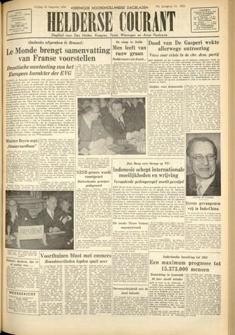 Heldersche Courant 1954-08-20