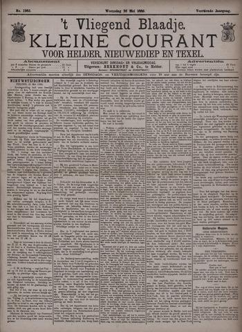 Vliegend blaadje : nieuws- en advertentiebode voor Den Helder 1886-05-26