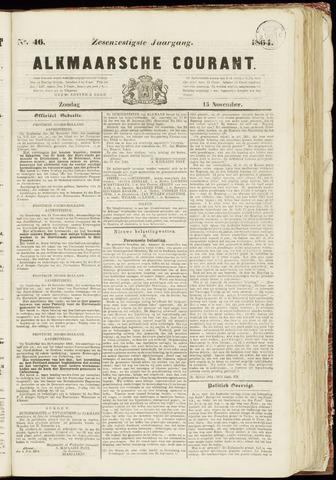 Alkmaarsche Courant 1864-11-13