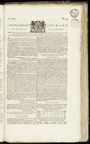 Alkmaarsche Courant 1839-12-09