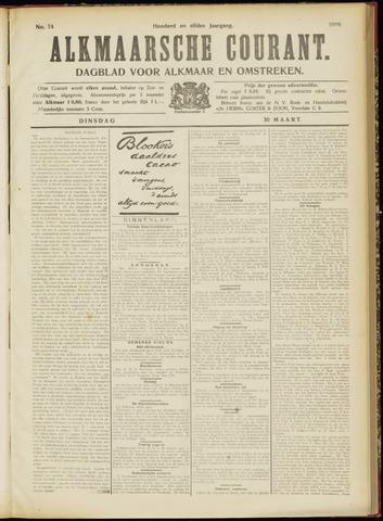 Alkmaarsche Courant 1909-03-30