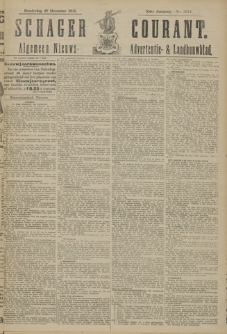 Schager Courant 1911-12-28