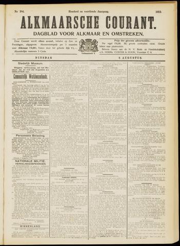 Alkmaarsche Courant 1912-08-06