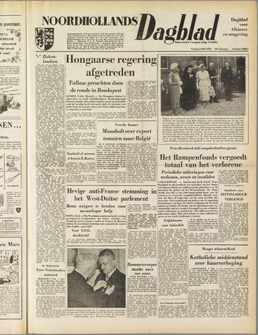 Noordhollands Dagblad : dagblad voor Alkmaar en omgeving 1953-07-03