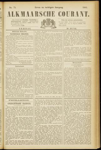 Alkmaarsche Courant 1885-06-26