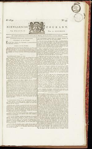 Alkmaarsche Courant 1834-11-10