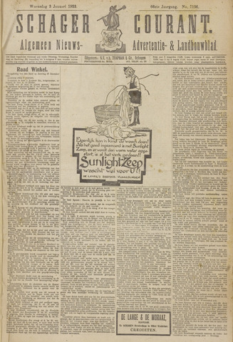Schager Courant 1923