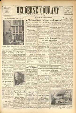 Heldersche Courant 1952-03-18