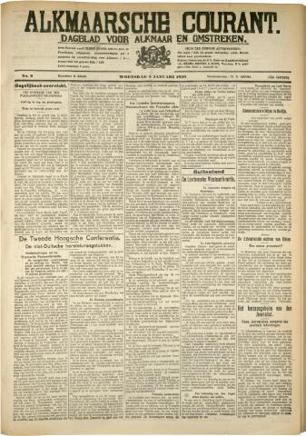 Alkmaarsche Courant 1930-01-08