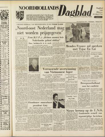 Noordhollands Dagblad : dagblad voor Alkmaar en omgeving 1954-06-23