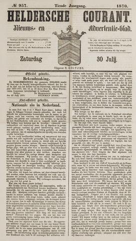 Heldersche Courant 1870-07-30