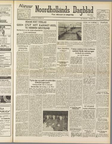Nieuw Noordhollandsch Dagblad : voor Alkmaar en omgeving 1947-10-27
