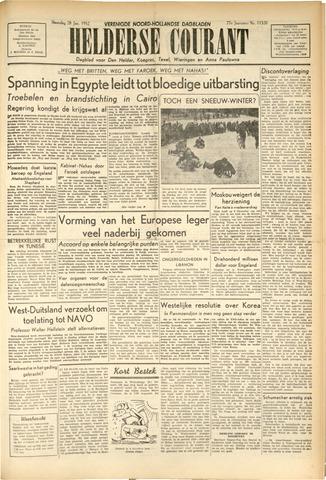 Heldersche Courant 1952-01-28