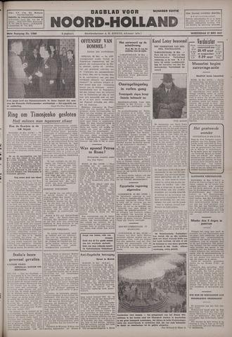 Dagblad Noord-Holland, Schager editie 1942-05-27