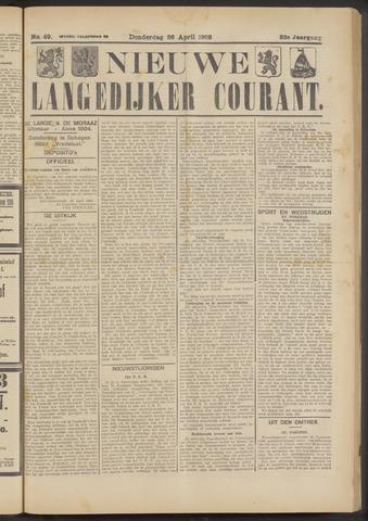 Nieuwe Langedijker Courant 1923-04-26
