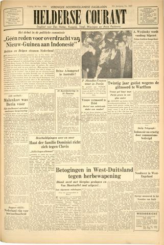 Heldersche Courant 1954-11-26