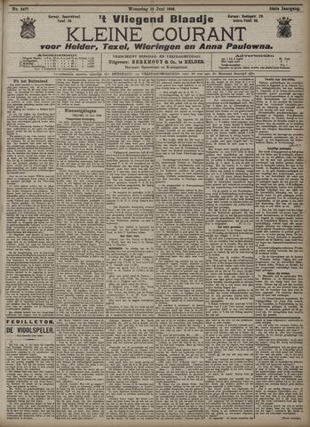 Vliegend blaadje : nieuws- en advertentiebode voor Den Helder 1906-06-13