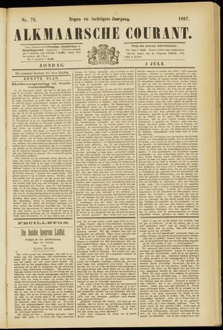 Alkmaarsche Courant 1887-07-03
