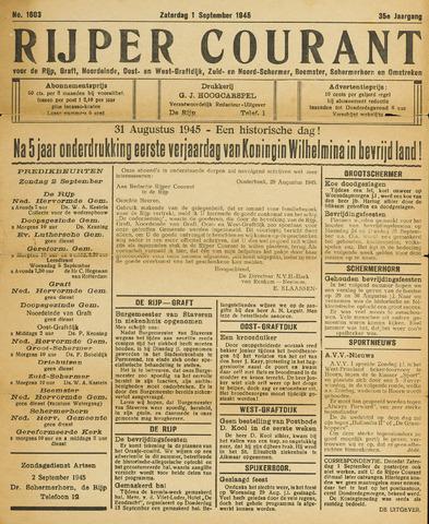 Rijper Courant 1945-09-01