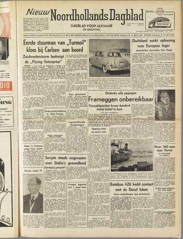 Nieuw Noordhollandsch Dagblad : voor Alkmaar en omgeving 1952-01-05