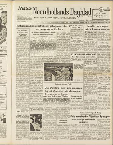 Nieuw Noordhollandsch Dagblad : voor Alkmaar en omgeving 1949-05-30