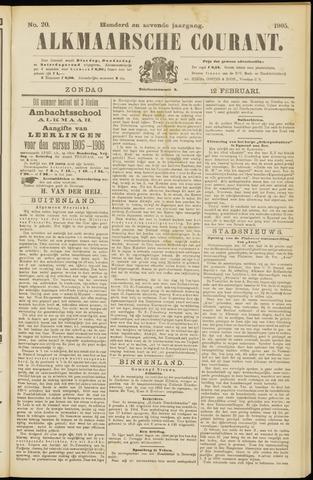 Alkmaarsche Courant 1905-02-12