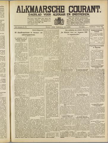 Alkmaarsche Courant 1941-03-06