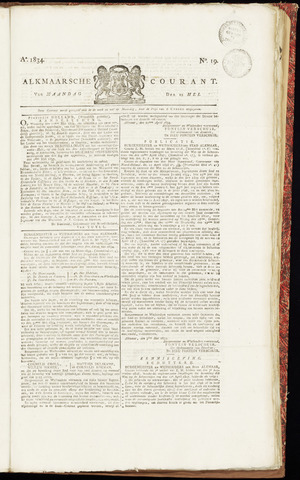 Alkmaarsche Courant 1834-05-12