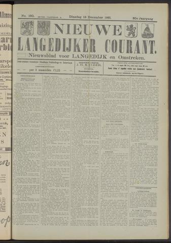 Nieuwe Langedijker Courant 1921-12-13