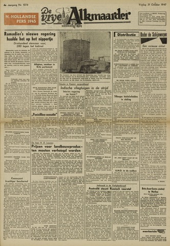 De Vrije Alkmaarder 1947-10-31