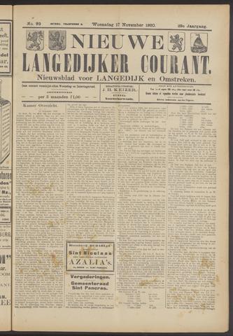 Nieuwe Langedijker Courant 1920-11-17