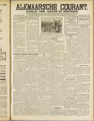 Alkmaarsche Courant 1941-10-27